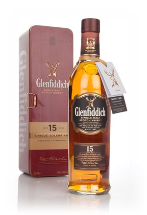 Glenfiddich 15 Year Old Solera Vat - Gift Tin