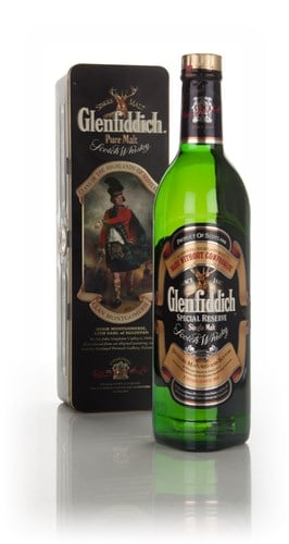 "Glenfiddich ""Clan Montgomerie"" - Clans of the Highlands - 1980s"