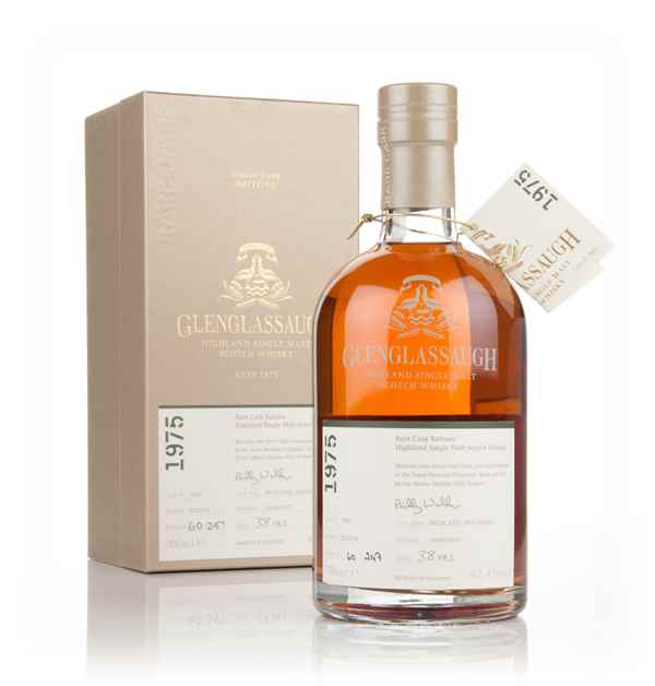 Glenglassaugh 38 Year Old 1975 (cask 7801) - Moscatel Cask Finish - Rare Cask Release Batch 1