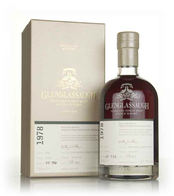 Glenglassaugh 38 Year Old 1978 (cask 2343) - Rare Cask Release Batch 3