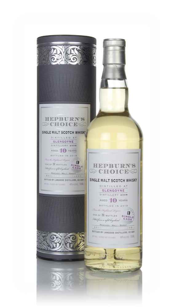 Glengoyne 10 Year Old 2008 - Hepburn's Choice (Langside)