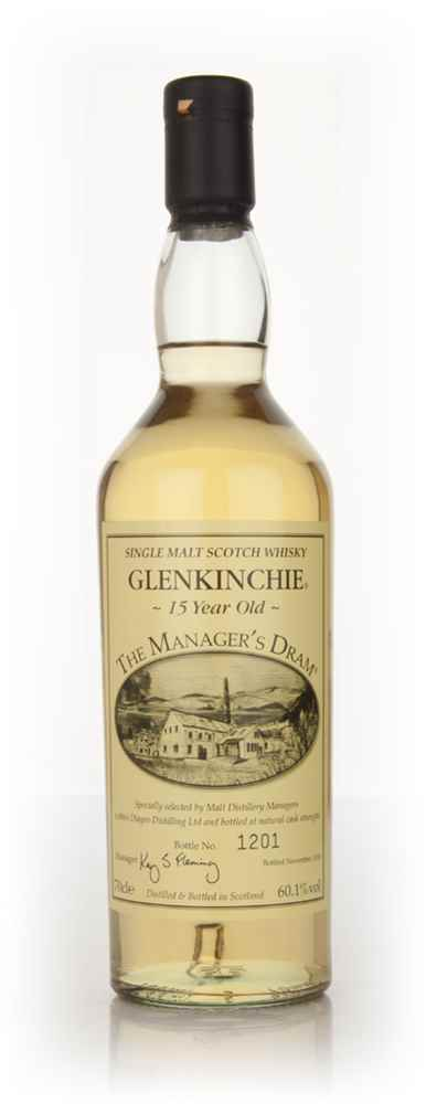 Glenkinchie 15 Year Old - The Manager's Dram