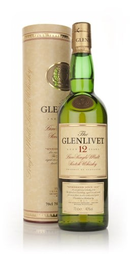 The Glenlivet 12 Year Old (Old Edition)