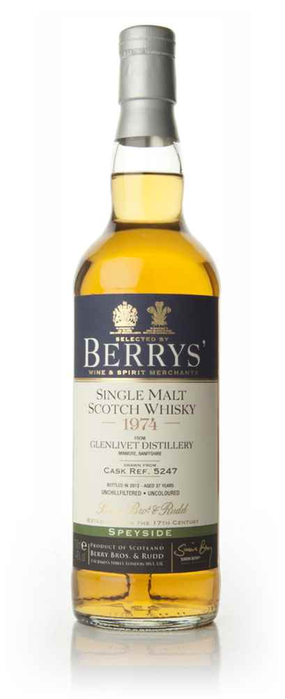 Glenlivet 37 Year Old 1974 (Cask 5247) (Berry Bros. & Rudd