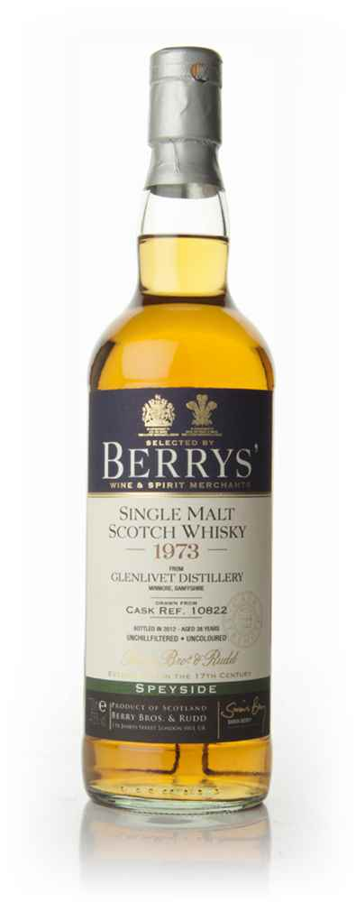 Glenlivet 38 Year Old 1973 (Berry Bros. & Rudd)