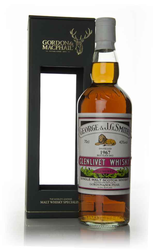 Smith's Glenlivet 1967 (bottled 2012) - Gordon & MacPhail