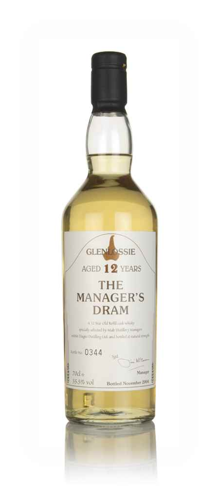 Glenlossie 12 Year Old - The Manager's Dram