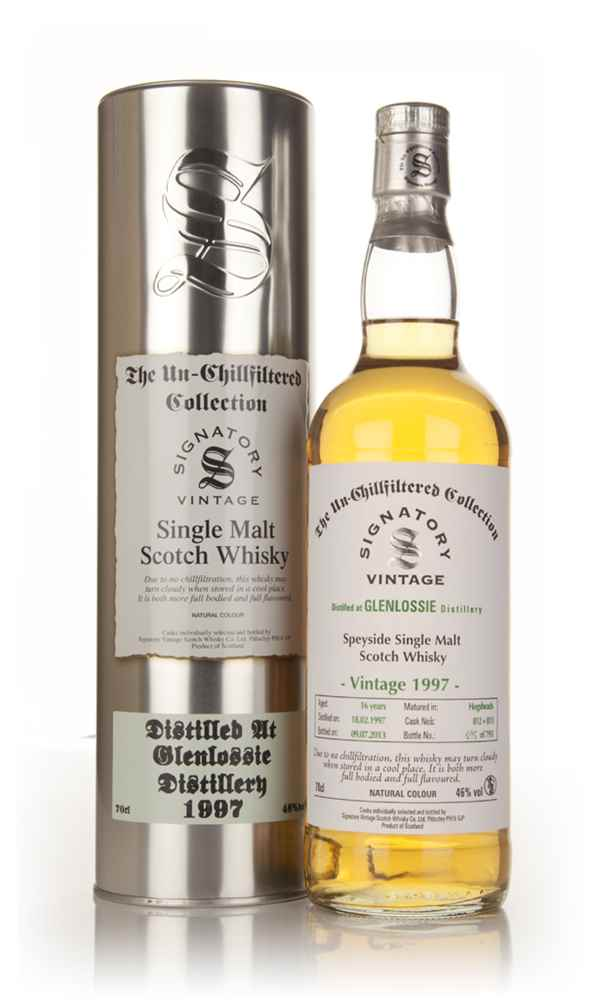 Glenlossie 16 Year Old 1997 (casks 812+813) - Un-Chillfiltered (Signatory)