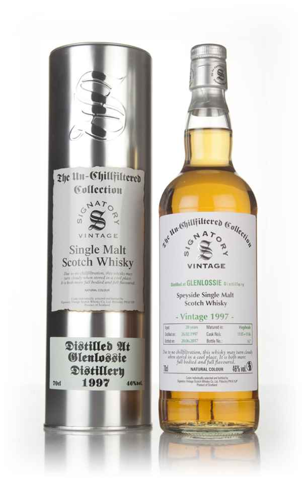 Glenlossie 20 Year Old 1997 (casks 1135 & 1136) - Un-Chillfiltered Collection (Signatory)
