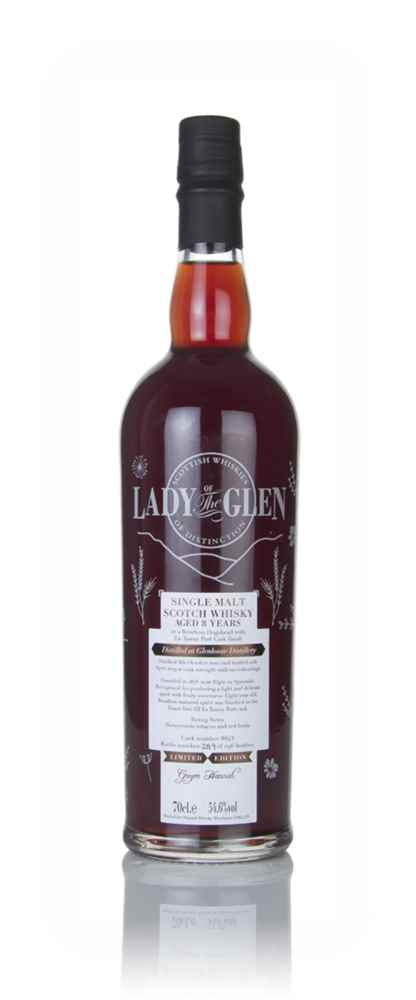 Glenlossie 8 Year Old 2010 (cask 8643) - Lady of the Glen (Hannah Whisky Merchants)