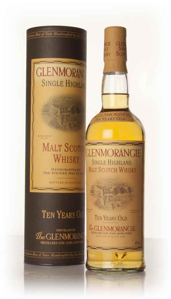 Glenmorangie 10 Year Old (Old Bottling)