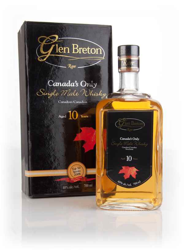 Glen Breton Rare 10 Year Old (40%)