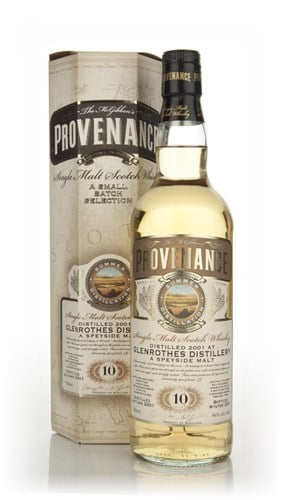 Glenrothes 10 Years Old 2001 (cask 7964) - Provenance (Douglas Laing)