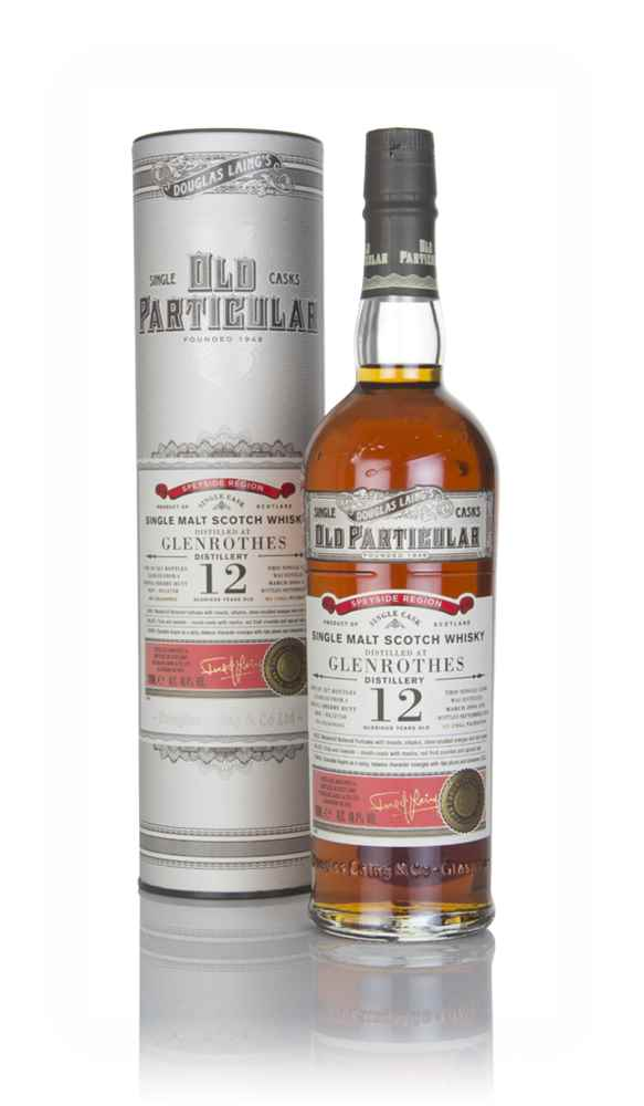 Glenrothes 12 Year Old 2006 (cask 12758) - Old Particular (Douglas Laing)