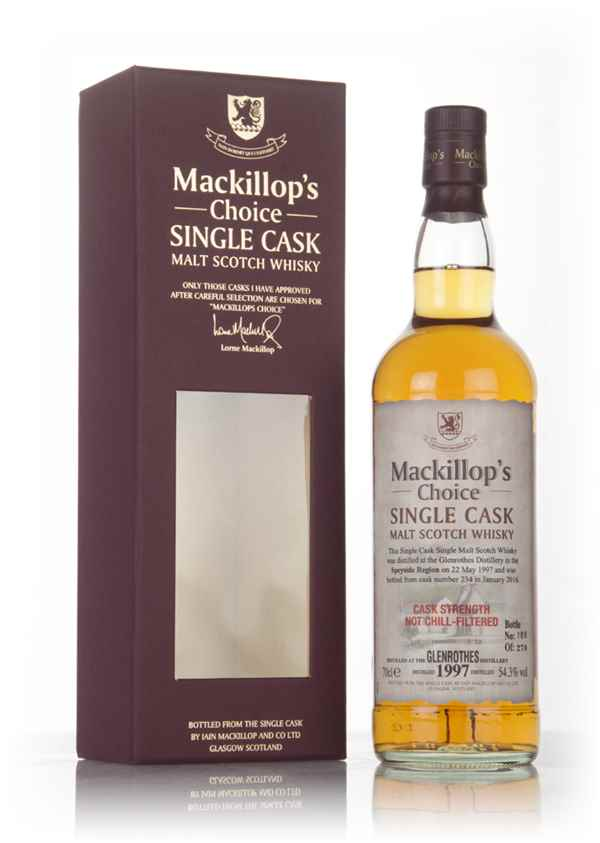 Glenrothes 18 Year Old 1997 (cask 234) - Mackillop's Choice
