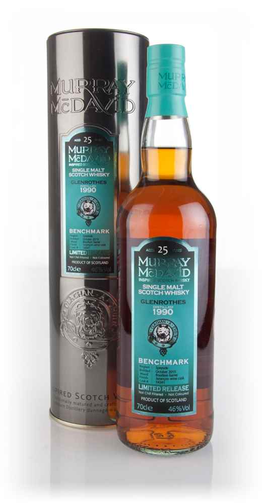 Glenrothes 25 Year Old 1990 (cask 14341) - Benchmark (Murray McDavid)