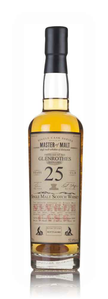 Glenrothes 25 Year Old 1991 - Single Cask (Master of Malt)