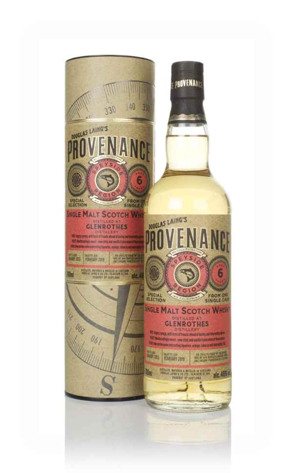 Glenrothes 6 Year Old 2013 (cask 13100) - Provenance (Douglas Laing)