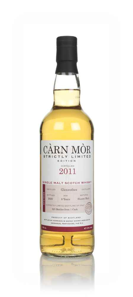 Glenrothes 8 Year Old 2011 - Strictly Limited (Càrn Mòr)