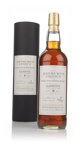 Glenrothes 9 Year Old 2004 - Hepburn's Choice (Langside)