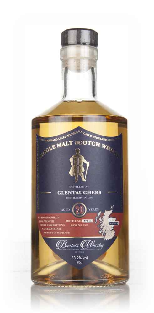 Glentauchers 20 Year Old 1996 (cask 7301) - Highland Laird (Bartels Whisky)