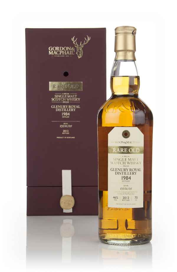 Glenury Royal 1984 (Lot No. RO/12/05) - Rare Old (Gordon & MacPhail) (bottled 2012)
