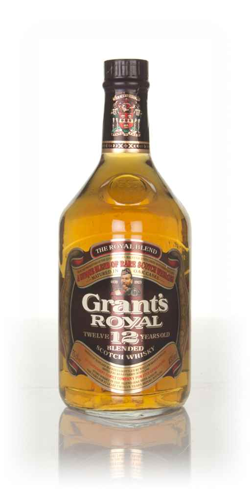 Grant's Royal 12 Year Old (43%) - 1970s