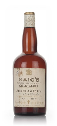 Haig's Gold Label - 1950s