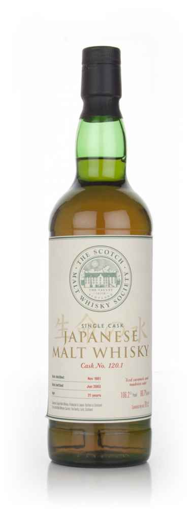 SMWS No. 120.1 21 Year Old 1981