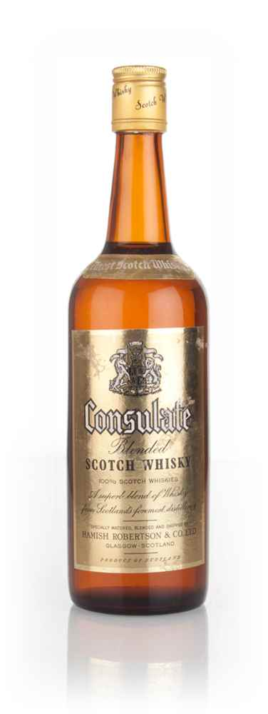 Consulate Blended Scotch Whisky - 1970s