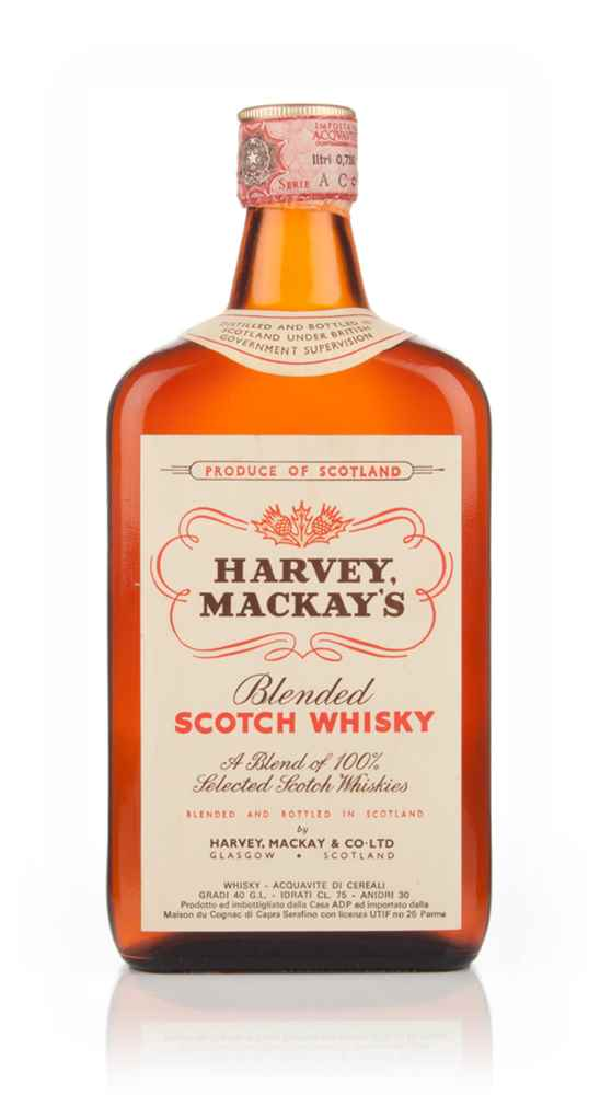 Harvey Mackay's Blended Scotch Whisky - 1970s
