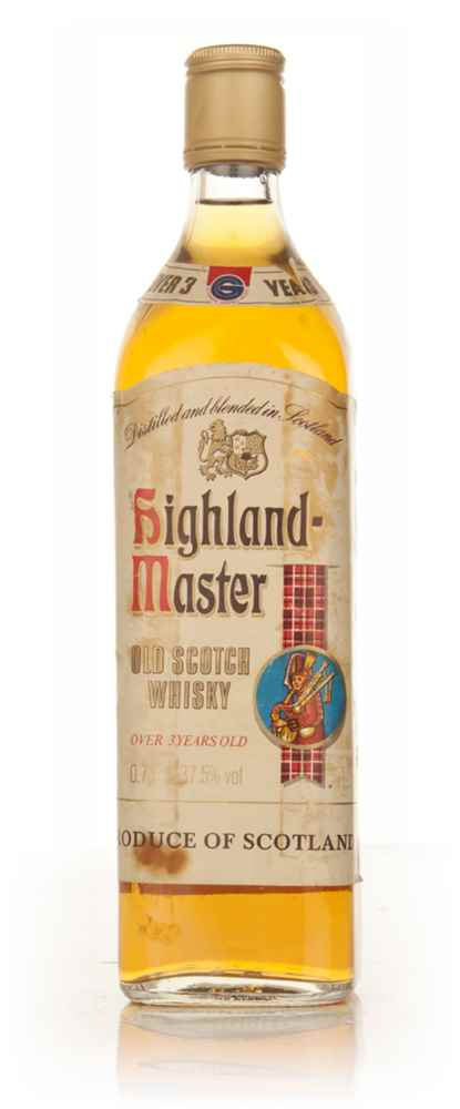 Highland Master Old Scotch Whisky - 1980s