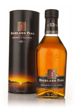 Highland Park 12 Year Old (Very Old Bottle)