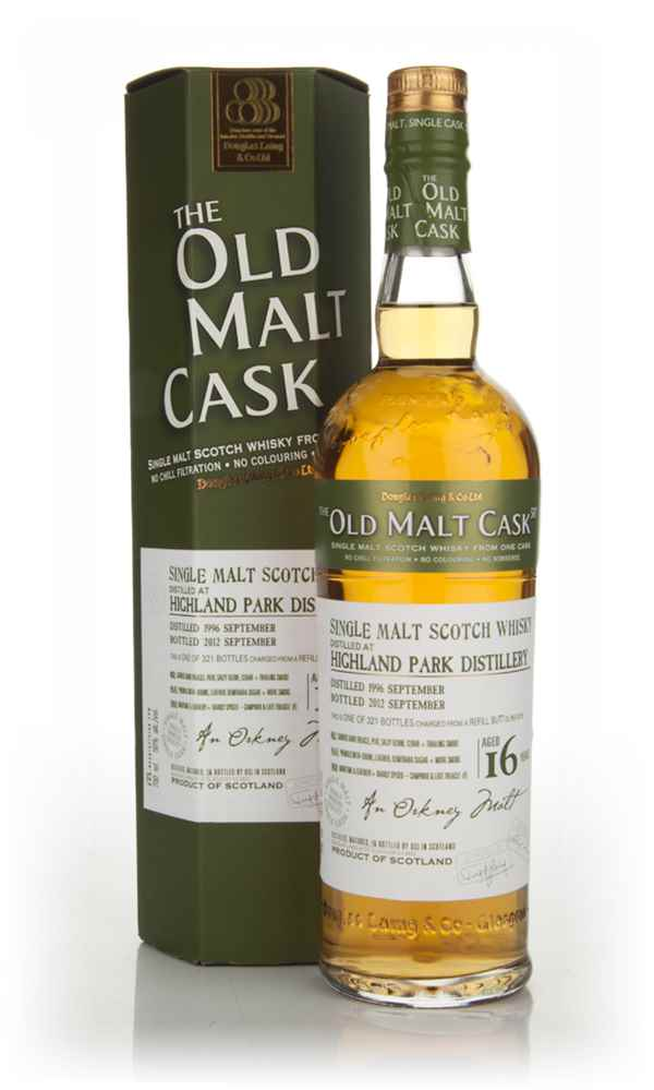 Highland Park 16 Years Old 1996 - Old Malt Cask (Douglas Laing)
