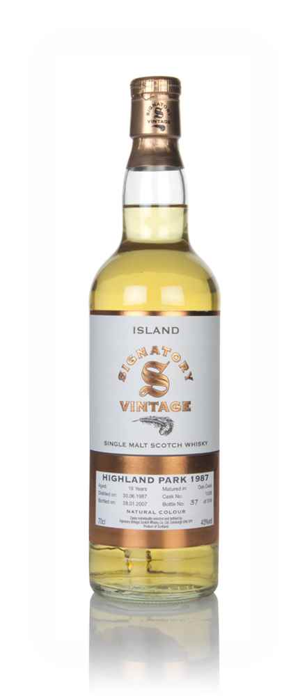Highland Park 19 Year Old 1987 (cask 1536) - Signatory