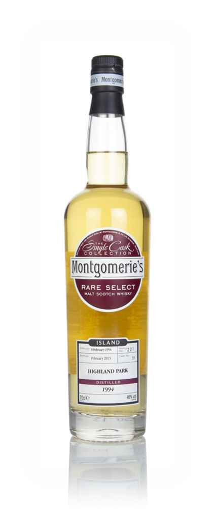 Highland Park 1994 (bottled 2015) (cask 33) - Rare Select (Montgomerie's)