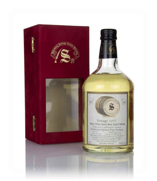 Highland Park 24 Year Old 1977 (cask 8798) - Signatory