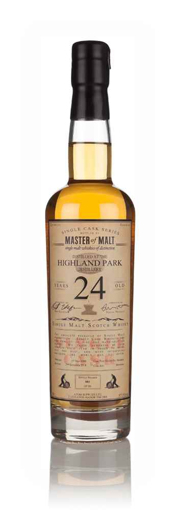Highland Park 24 Year Old 1990 - Single Cask (Master of Malt)