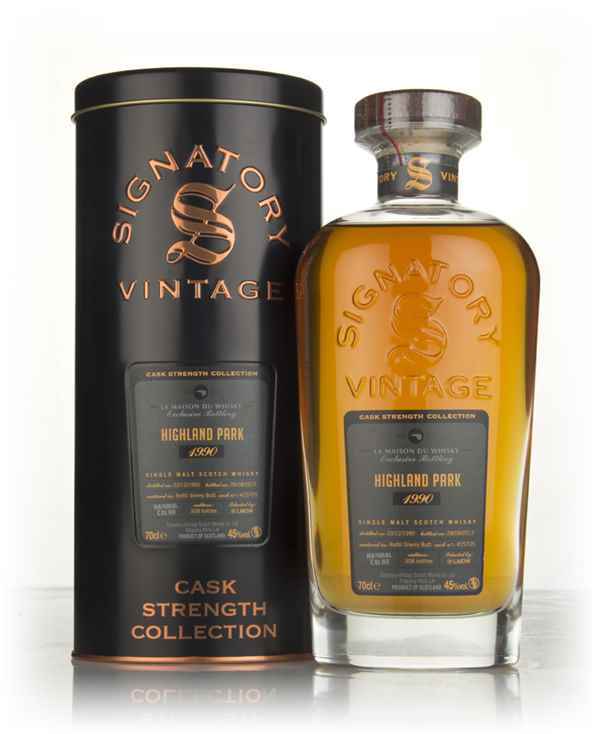 Highland Park 26 Year Old 1990 (cask 15705) - Cask Strength Collection (Signatory)