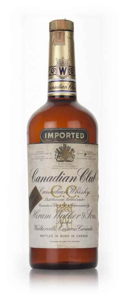 Canadian Club 6 Year Old Whisky - 1964 43.4%
