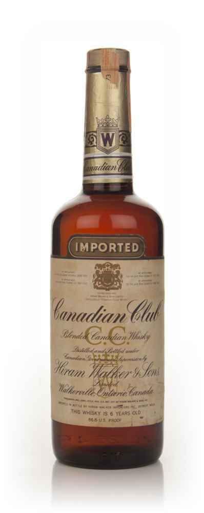 Canadian Club 6 Year Old Whisky - 1973