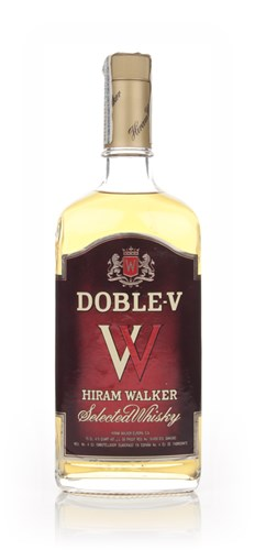 Hiram Walker's Doble-V Whisky - 1980s
