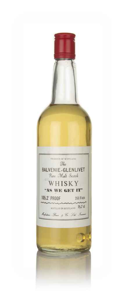 Balvenie-Glenlivet - As We Get It