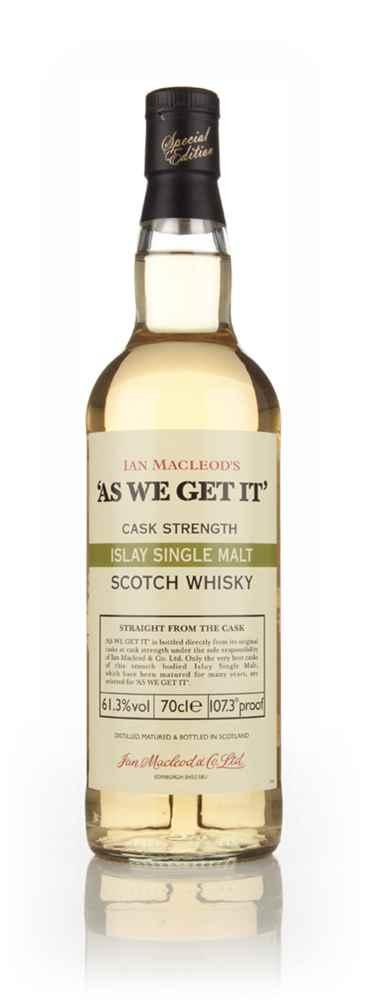 Islay Single Malt - As We Get It (Ian Macleod) (61.3%)