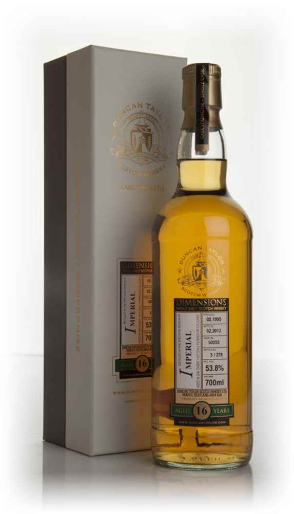 Imperial 16yo 1995 - Dimensions (Duncan Taylor)