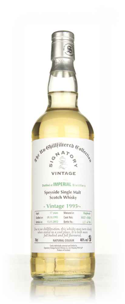Imperial 17 Year Old 1995 - Un-Chillfiltered (Signatory)