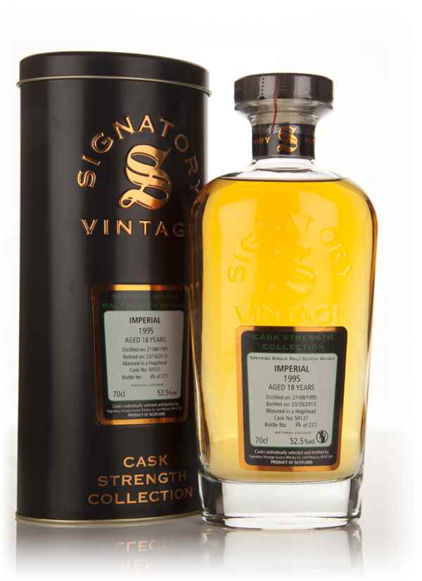 Imperial 18 Year Old 1995 (cask 50137) - Cask Strength Collection (Signatory)