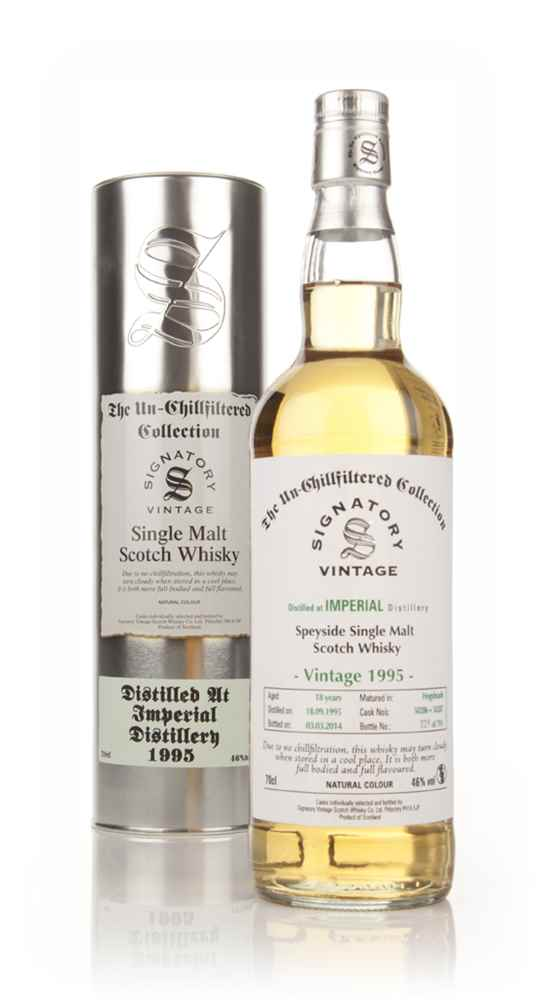 Imperial 18 Year Old 1995 (casks 50286+50287) - Un-Chillfiltered (Signatory)