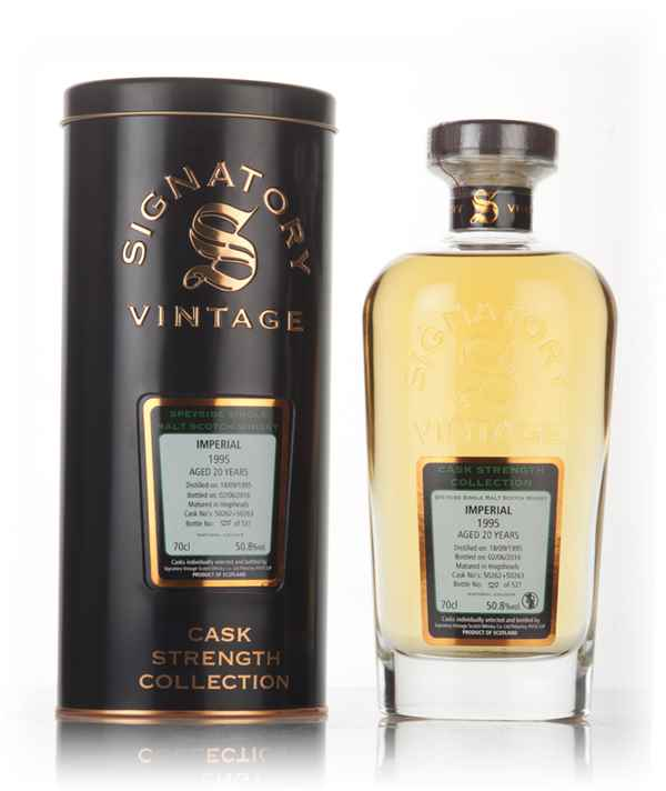 Imperial 21 Year Old 1995 (casks 50262 & 50263) - Cask Strength Collection (Signatory)