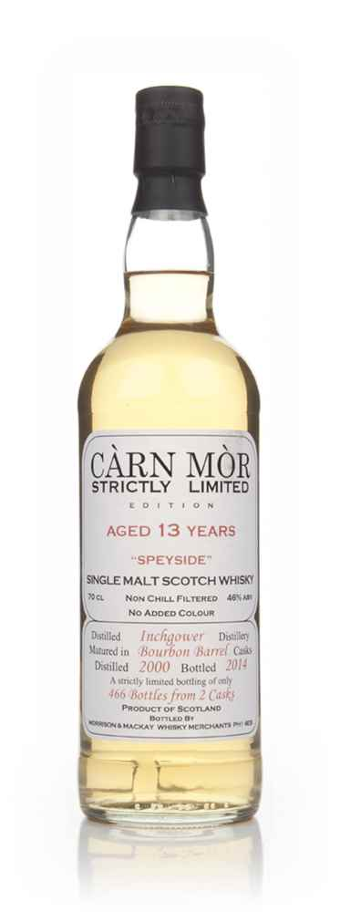 Inchgower 13 Year Old 2000 - Strictly Limited (Càrn Mòr)
